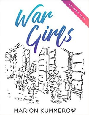 War Girls Coloring Book