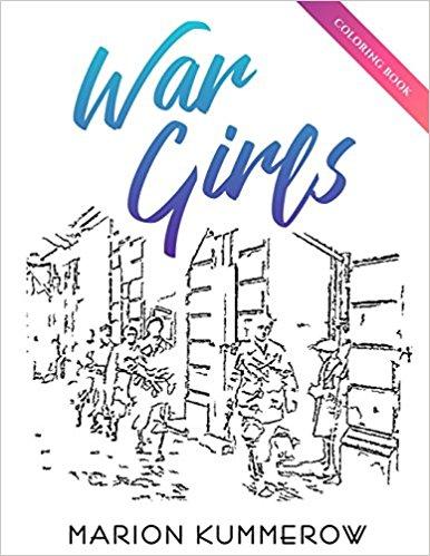War Girls Coloring Book