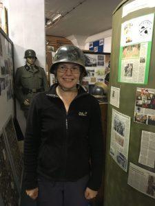 Me at Fallingbostel Military Museum