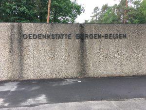 Bergen Belsen Concentration Camp