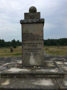 Tombstones of Bergen Belsen