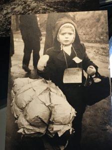 Unaccompanied child arrving in Friedlannd